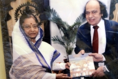 President of India, Mrs. Pratibha Devisingh Patil